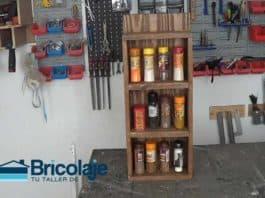 especiero madera rústico