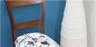 Cómo tapizar silla con tela en 8 sencillos pasos