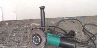 Cómo cambiar el disco de la amoladora o radial sin llaves