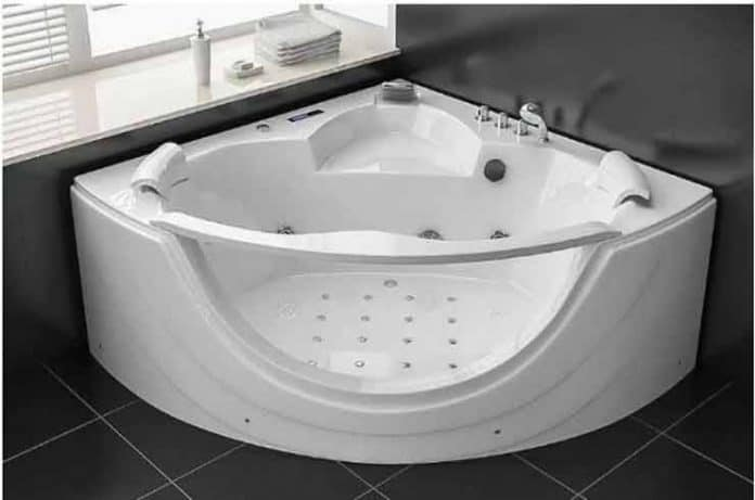 Bañera de hidromasaje: calma y relajación total