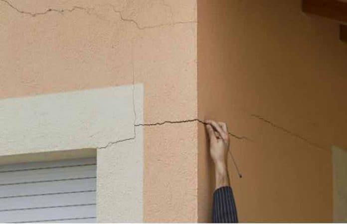¿Qué hacer cuando hay una fisura en la fachada de la casa?
