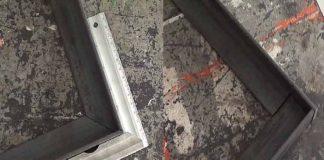 Formas que conozcco de cortar un ángulo de hierro a 45º