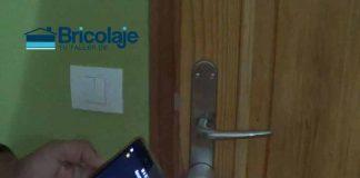 instalando y configurando una cerradura electrónica