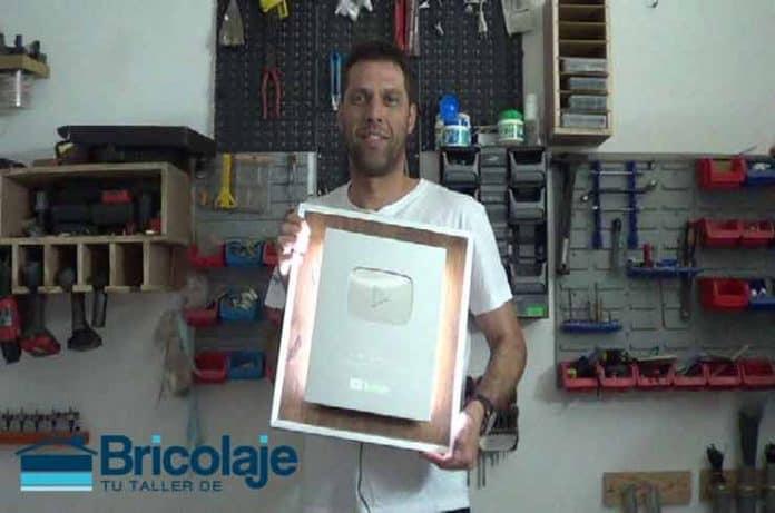 Tuneando premio Youtube por 100000 suscriptores