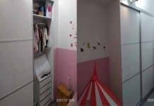 Cómo hacer un armario de puertas correderas a medida. 2/2