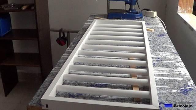 Cómo hacer una reja de aluminio