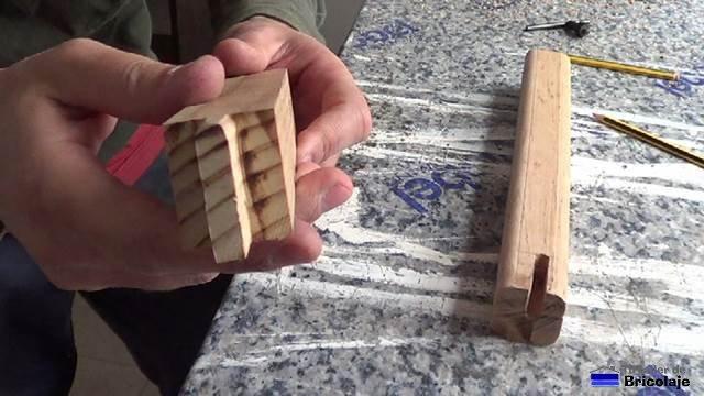 sistema de espiga y caja