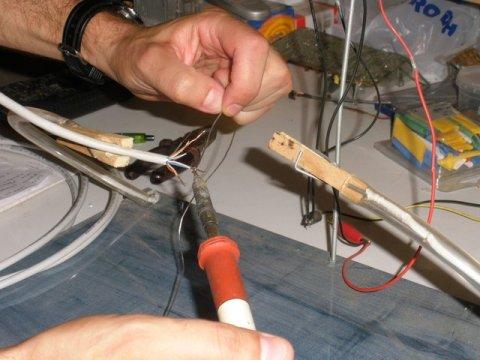 estañando cable utp categoría 5