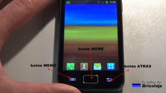 smartphone con sistema operativo android