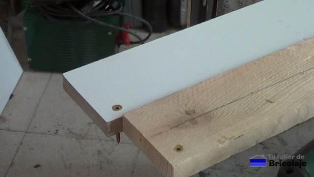 cómo avellanar en madera sin broca avellanadora