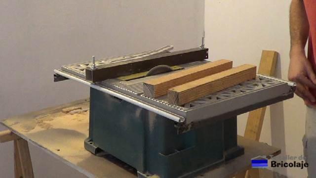 listones de madera para hacer las patas para la mesa centro