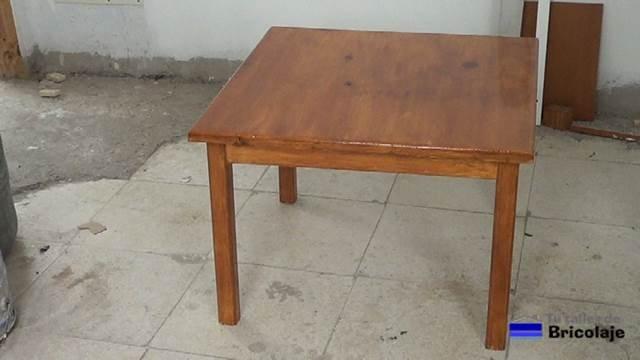 cómo hacer una mesa de centro
