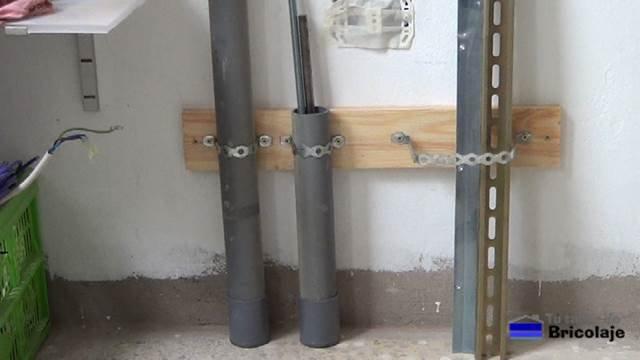 cómo organizar nuestros perfiles de aluminio, varillas roscadas,... en nuestra zona de trabajo o taller