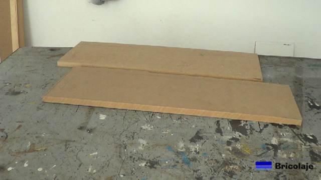 material necesario para aumentar el grosor de la madera