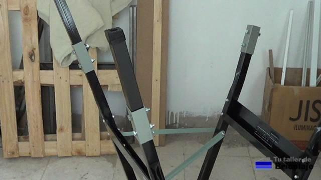 las nuevas patas para aumentar de altura el banco de trabajo