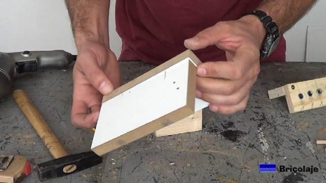 unión de la madera mediante tarugos, espigas o tubillones
