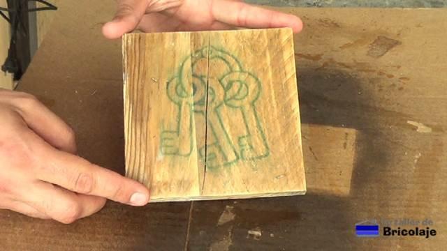 cómo transferir una imagen a la madera