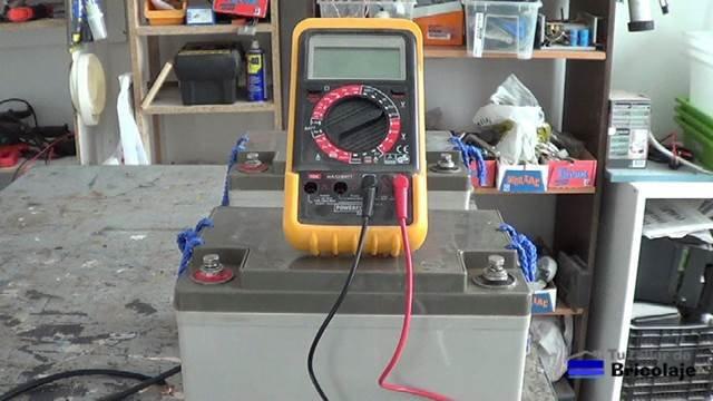 usaremos el multímetro o tester para realizar las comprobaciones