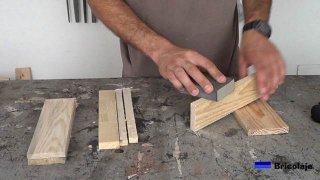 lijando la madera