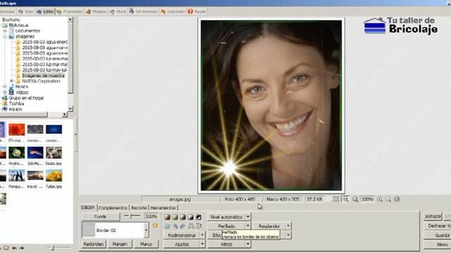 añadiendo efectos a una  foto de forma fácil