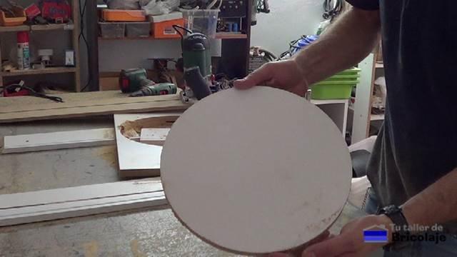 corte circular con la fresadora o router