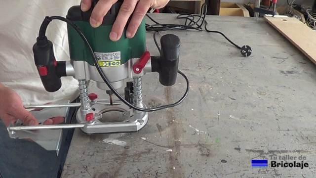 accesorios para la fresadora o router