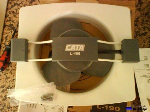 nuevo extractor de aire para la cocina a colocar