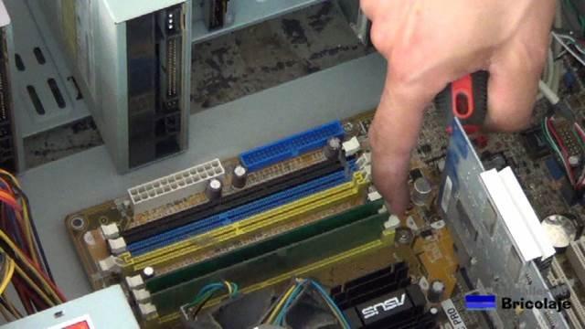 ranuras de expansión de los módulos de memoria ram