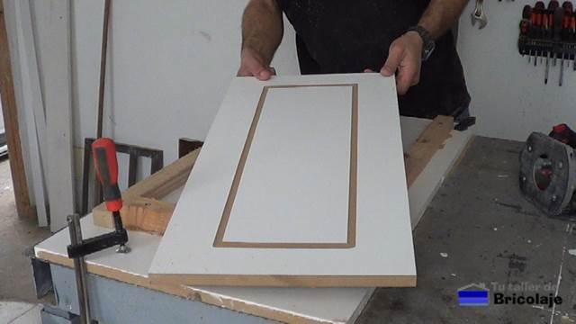primer ejemplo de dibujo sobre madera en mdf