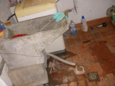 vista del cuarto lavadero