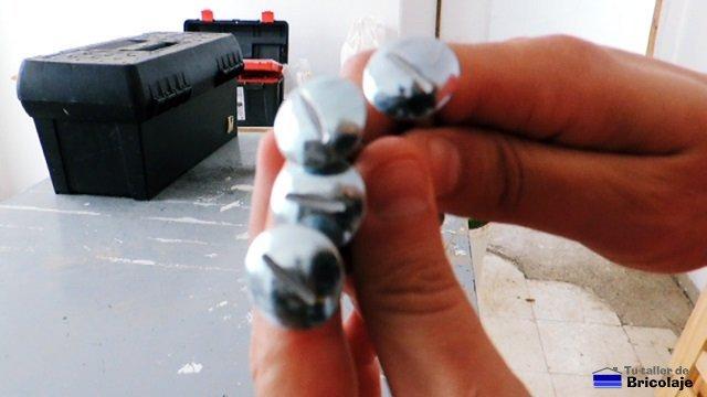 cómo modificar un tornillo
