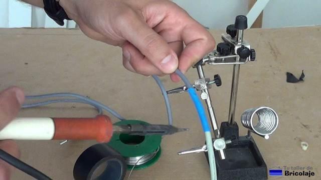 terminado el cable usb macho hembra