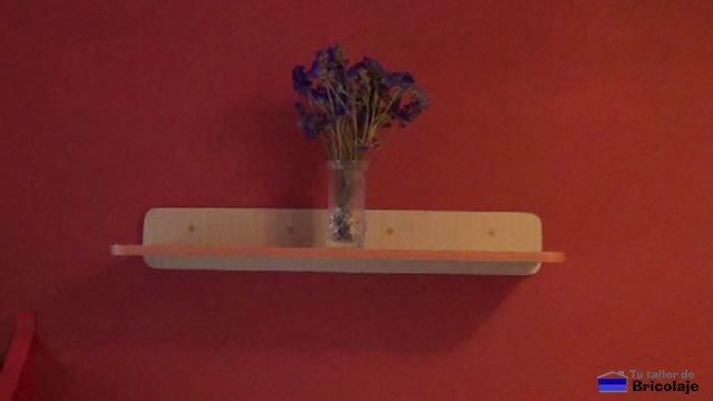 cómo hacer una repisa de madera