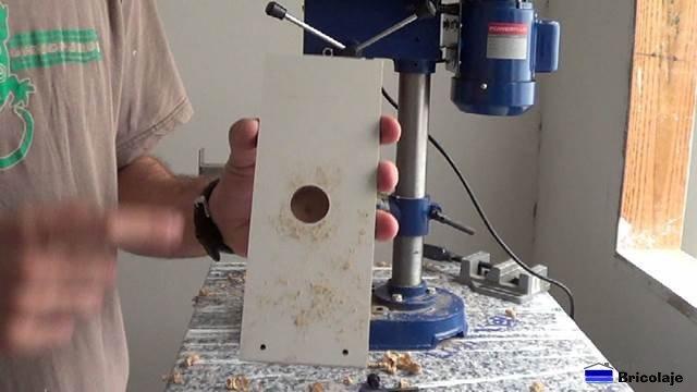 medidas para fabricar la plantilla para la bisagras de cazoleta