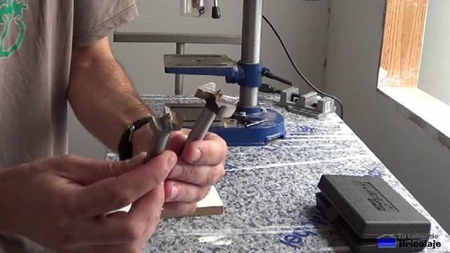 brocas para bisagras de cazoleta