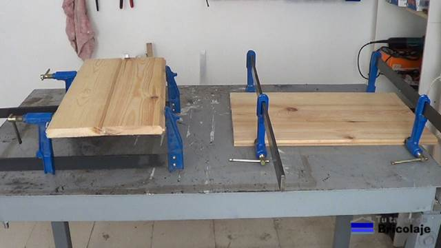 C mo hacer una mesa de centro 2 2 for Crear una cubierta de madera
