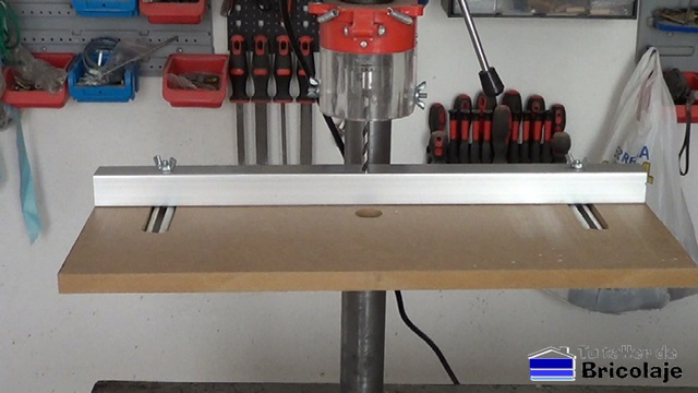 C mo hacer una mesa para el taladro de columna - Taladro de mesa ...