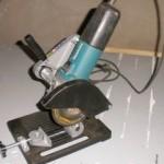 Cómo montar soporte para la amoladora