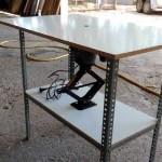Cómo hacer una mesa para la fresadora. 1ª parte: la estructura.