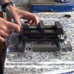 Cómo hacer una escopleadora casera usando un taladro de columna o soporte para taladro. 1/2