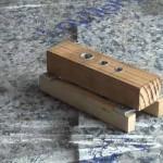 Cómo hacer una guía para unir madera con tarugos o espigas 1/2