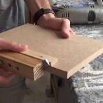 Cómo hacer una guía para unir madera con tarugos o espigas 2/2