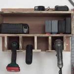 Cómo hacer un organizador de taladros y sus accesorios. 2/2