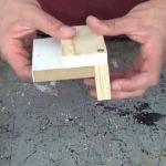 Cómo hacer una plantilla para colocar tarugos o espigas. 1/2