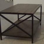 Cómo hacer una mesa de centro de hierro y palets. 2/2
