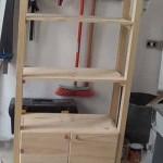 Cómo hacer un mueble auxiliar para baño tipo columna