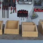 Cómo hacer una cajitas de madera para organizar el taller