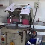 Máquinas usadas en un taller de aluminio profesional