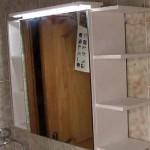 Cómo hacer un mueble con espejo para el baño. 1/2